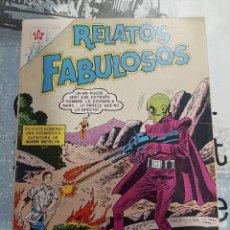 Livros de Banda Desenhada: RELATOS FABULOSOS N°40, NOVARO 1962. Lote 255633785