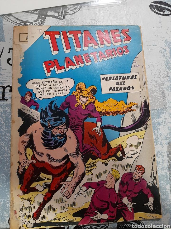 TITANES PLANETARIOS N° 116, NOVARO 1961 (Tebeos y Comics - Novaro - Sci-Fi)