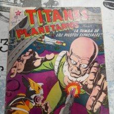 Tebeos: TITANES PLANETARIOS N° 83, NOVARO 1960. Lote 255636785