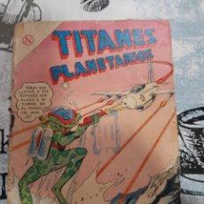 Tebeos: TITANES PLANETARIOS N° 182, NOVARO 1964. Lote 255637995