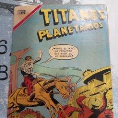 Tebeos: TITANES PLANETARIOS N° 361, NOVARO 1971. Lote 255638740