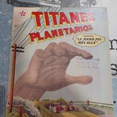 Tebeos: TITANES PLANETARIOS N°95, NOVARO 1960. Lote 255639150