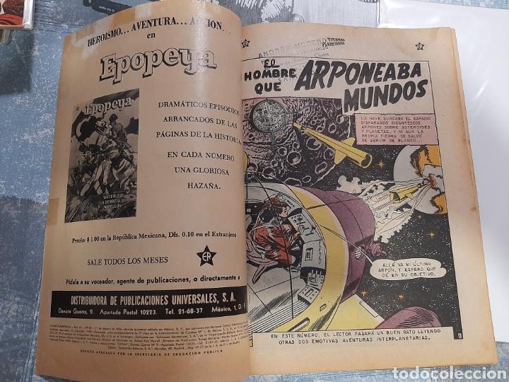 Tebeos: Titanes Planetarios n° 81, Novaro 1960 - Foto 3 - 255639570