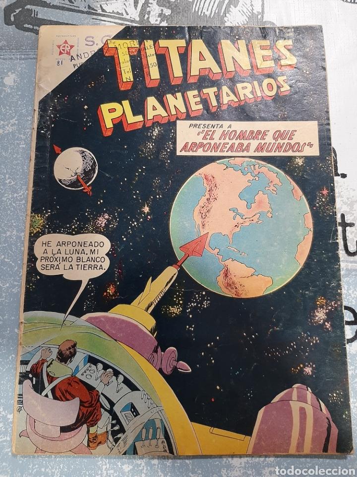 TITANES PLANETARIOS N° 81, NOVARO 1960 (Tebeos y Comics - Novaro - Sci-Fi)