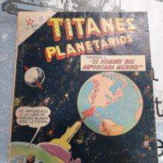 Tebeos: TITANES PLANETARIOS N° 81, NOVARO 1960. Lote 255639570