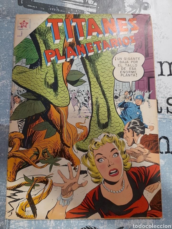 TITANES PLANETARIOS N° 77, NOVARO 1959, MUY NUEVO (Tebeos y Comics - Novaro - Sci-Fi)