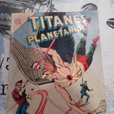 Tebeos: TITANES PLANETARIOS N° 185, NOVARO 1964. Lote 255641905