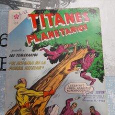 Tebeos: TITANES PLANETARIOS N°90, NOVARO 1960. Lote 255643065