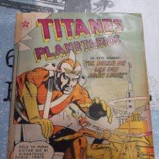 Tebeos: TITANES PLANETARIOS N° 111, NOVARO 1961. Lote 255643780