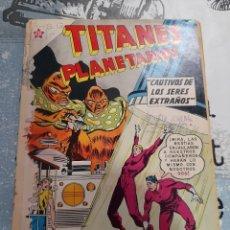 Tebeos: TITANES PLANETARIOS N° 119, NOVARO 1961. Lote 255644095