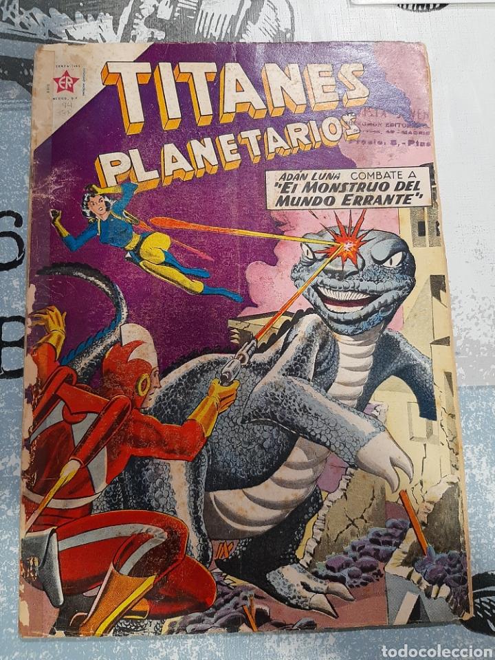 TITANES PLANETARIOS N° 94, NOVARO 1960 (Tebeos y Comics - Novaro - Sci-Fi)