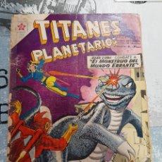 Tebeos: TITANES PLANETARIOS N° 94, NOVARO 1960. Lote 255644600
