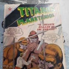 Tebeos: TITANES PLANETARIOS N° 91, NOVARO 1960. Lote 255645240