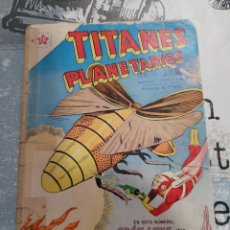Tebeos: TITANES PLANETARIOS N° 133, NOVARO 1961. Lote 255645575