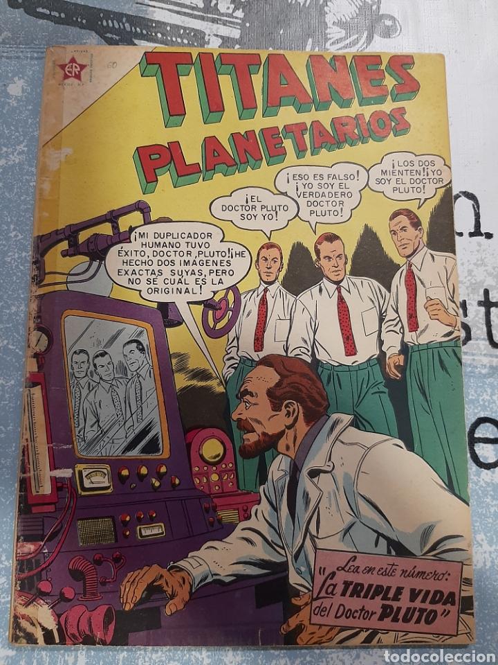 TITANES PLANETARIOS N° 60 , NOVARO 1958 (Tebeos y Comics - Novaro - Sci-Fi)