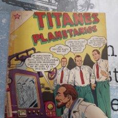 Tebeos: TITANES PLANETARIOS N° 60 , NOVARO 1958. Lote 255646345