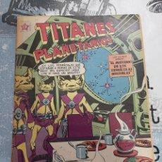 Tebeos: TITANES PLANETARIOS N° 57, NOVARO 1958. Lote 255646690