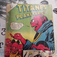 Tebeos: TITANES PLANETARIOS N° 224, NOVARO 1966. Lote 255647040