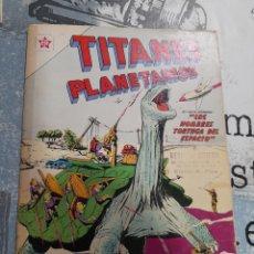 Tebeos: TITANES PLANETARIOS 114, NOVARO 1961. Lote 255647315