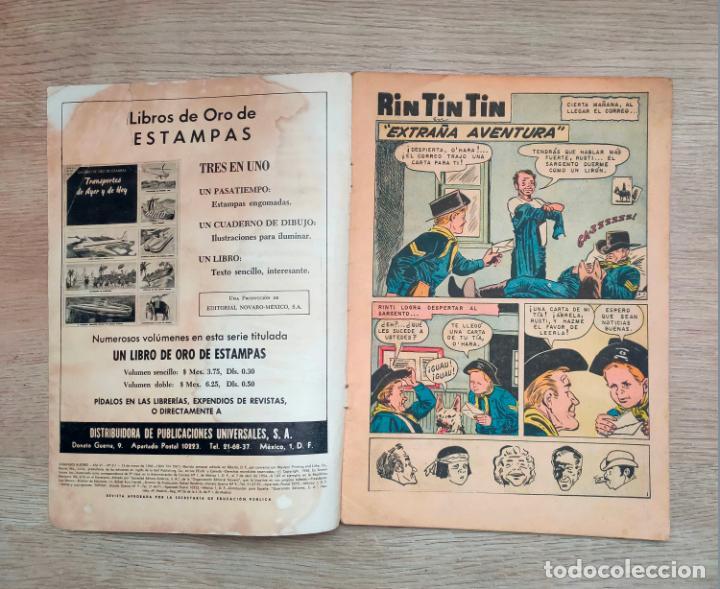 Tebeos: Novaro. Domingos alegres. Rin Tin Tin. 311. 1960 - Foto 4 - 256028505