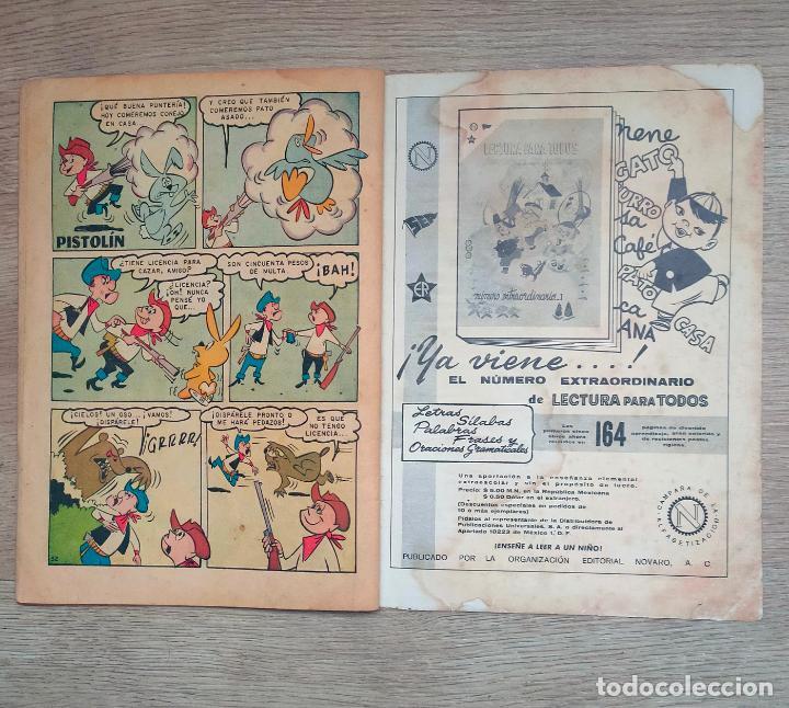 Tebeos: Novaro. Domingos alegres. Rin Tin Tin. 311. 1960 - Foto 6 - 256028505