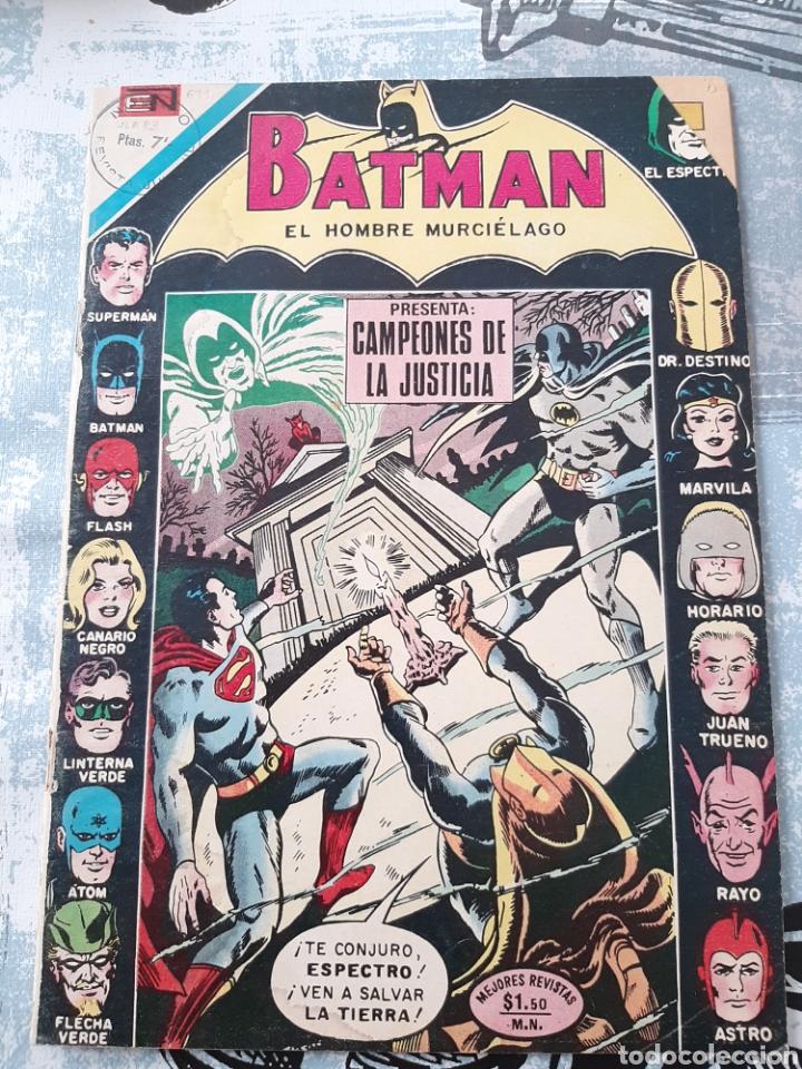 BATMAN N° 611, NOVARO 1972 (Tebeos y Comics - Novaro - Batman)