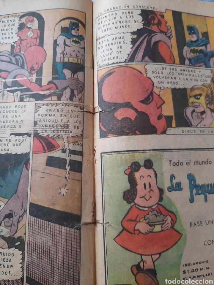 Tebeos: Batman n° 500, Novaro 1969, Campeones de la justicia - Foto 3 - 257311830