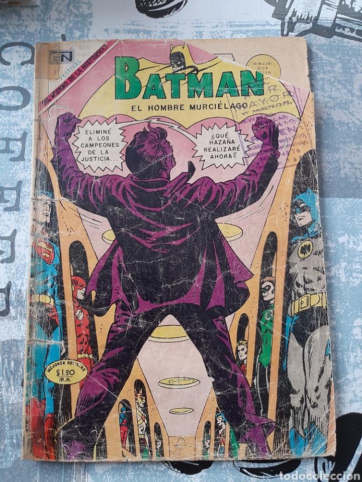 BATMAN N° 500, NOVARO 1969, CAMPEONES DE LA JUSTICIA (Tebeos y Comics - Novaro - Batman)