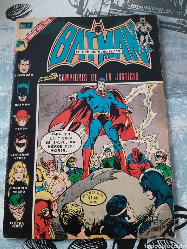 BATMAN N° 681, NOVARO 1973, CAMPEONES DE LA JUSTICIA (Tebeos y Comics - Novaro - Batman)