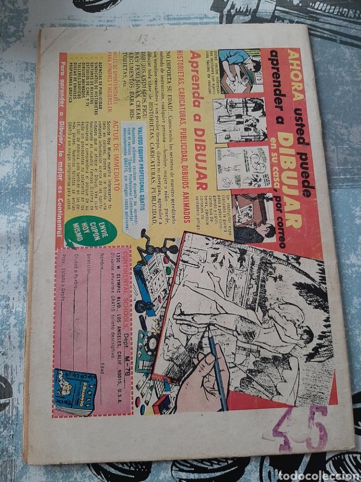 Tebeos: Batman n° 445, Novaro 1968, Linterna Verde - Foto 2 - 257320535