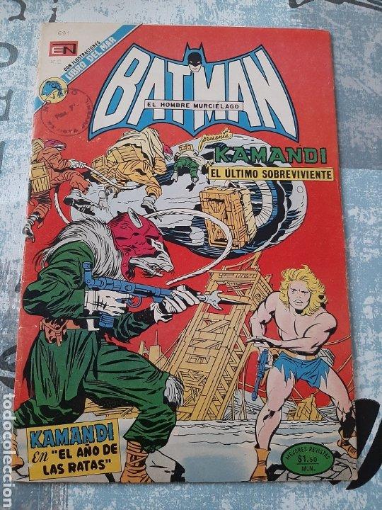 BATMAN N° 691, NOVARO 1973, KAMANDI (Tebeos y Comics - Novaro - Batman)