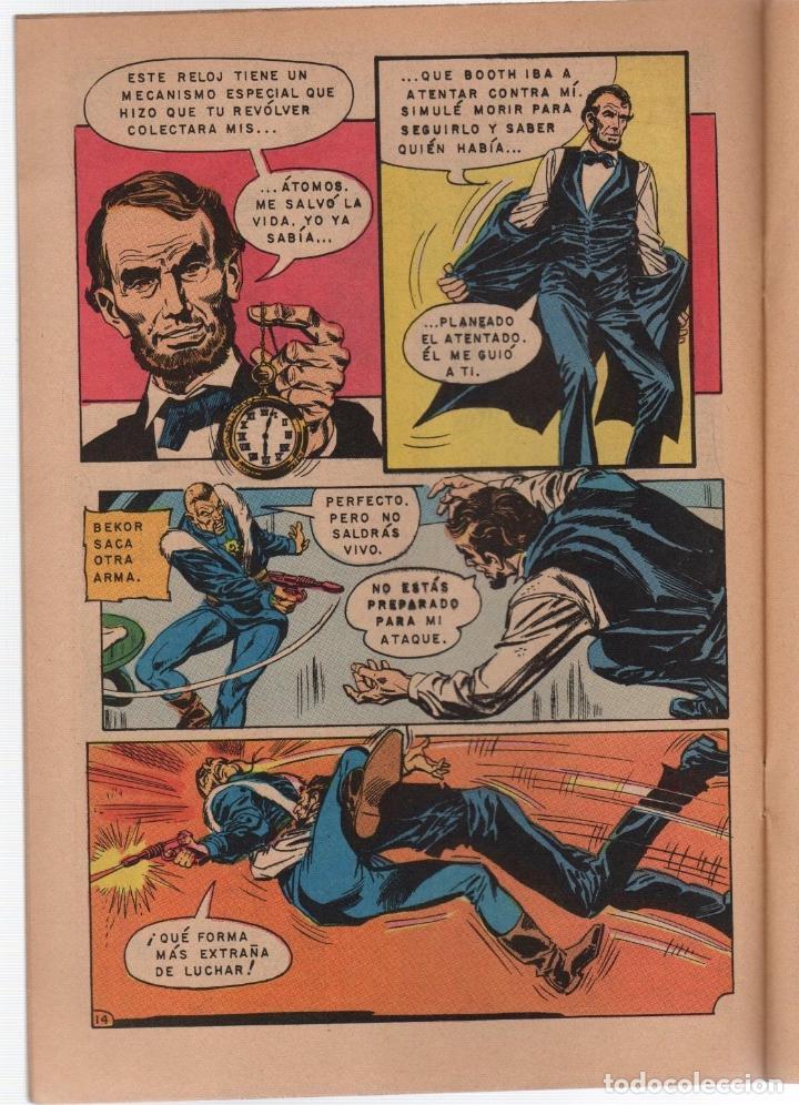 Tebeos: BATMAN. EXTRA. EL PRESIDENTE ABRAHAM LINCOLN HA SIDO ASESINADO. Nº 644. NOVARO, 24 AGOSTO 1972 - Foto 2 - 257431130