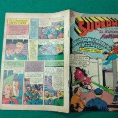 Tebeos: SUPERMAN Nº 191 EDITORIAL NOVARO 17 DE JUNIO DE 1959.. Lote 257630870