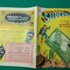 Tebeos: SUPERMAN Nº 110 EDITORIAL NOVARO 15 DE OCTUBRE DE 1957.. Lote 257634000