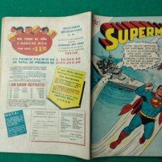Tebeos: SUPERMAN Nº 115 EDITORIAL NOVARO 1 DE ENERO DE 1958.. Lote 257634155
