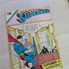 Tebeos: CASI EXCELENTE ESTADO SUPERMAN 830 NOVARO. Lote 257634270