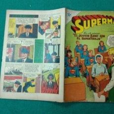 Tebeos: SUPERMAN Nº 98 EDITORIAL NOVARO 15 DE ABRIL DE 1957.. Lote 257635615
