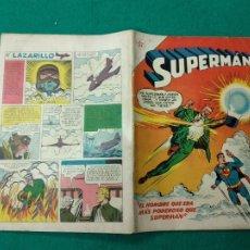 Tebeos: SUPERMAN Nº 95 EDITORIAL NOVARO 1 DE MARZO DE 1957.. Lote 257635750