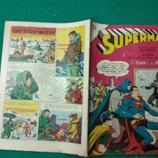 Tebeos: SUPERMAN Nº 130 EDITORIAL NOVARO 16 DE ABRIL DE 1958. .. Lote 257636935