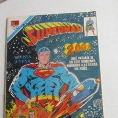 Tebeos: SUPERMAN 2001, Nº 2-1130, EDITORIAL NOVARO 1977 SERIE AGUILA. ETX. Lote 257716140