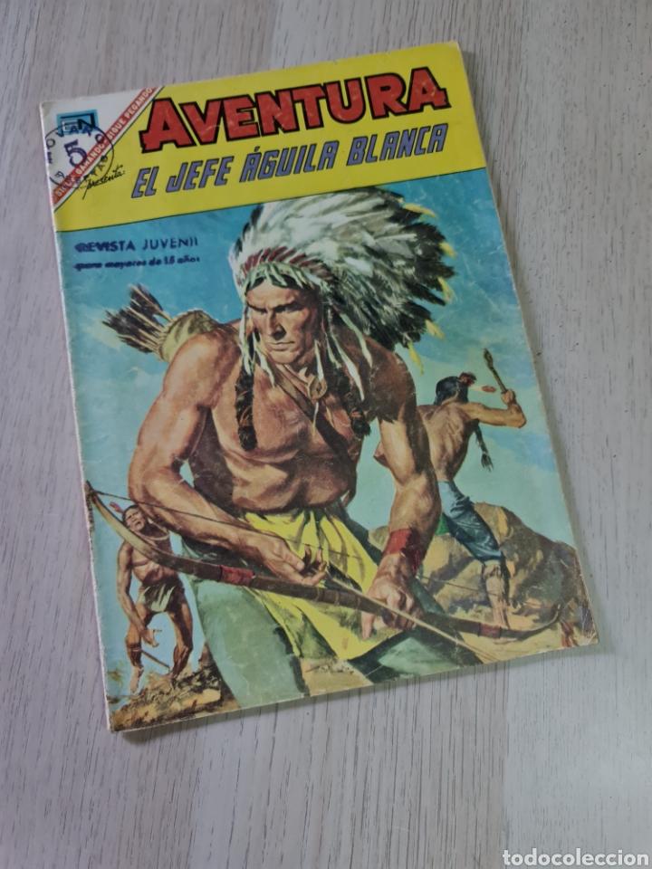 MUY BUEN ESTADO AVENTURA EL JEFE ÁGUILA BLANCO 479 NOVARO (Tebeos y Comics - Novaro - Aventura)