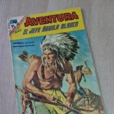 Tebeos: MUY BUEN ESTADO AVENTURA EL JEFE ÁGUILA BLANCO 479 NOVARO. Lote 257762320