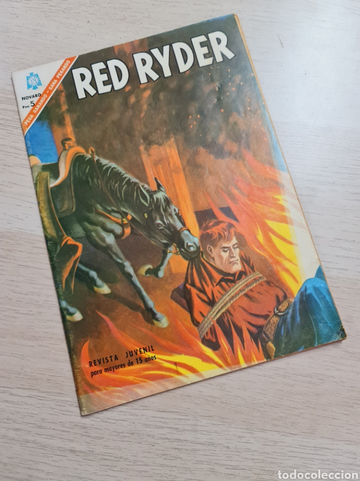 EXCELENTE ESTADO RED RYDER 143 NOVARO (Tebeos y Comics - Novaro - Red Ryder)