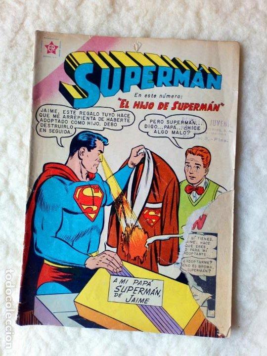 SUPERMÁN Nº 204 NOVARO (Tebeos y Comics - Novaro - Superman)