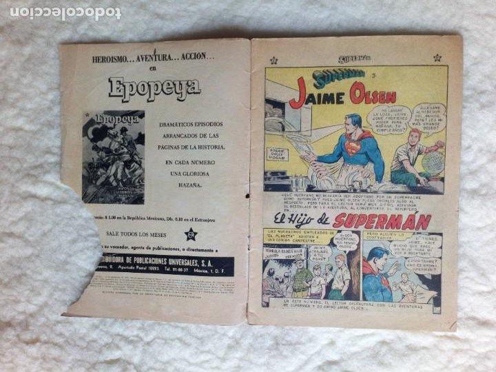 Tebeos: Supermán Nº 204 NOVARO - Foto 3 - 257846380