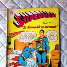 Tebeos: SUPERMÁN Nº 212 NOVARO. Lote 257850005