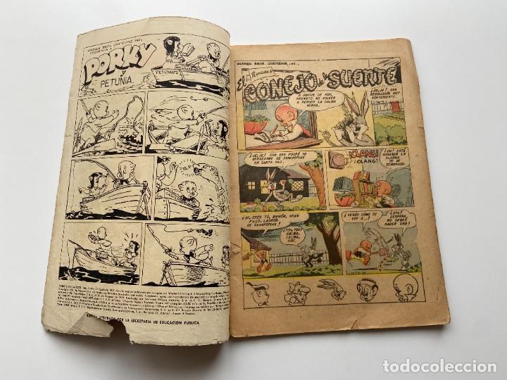 Tebeos: Porky y Sus Amigos nº 21 Año II Primerísima Numeración SEA Novaro sello Negro 1953 - Foto 4 - 257935655