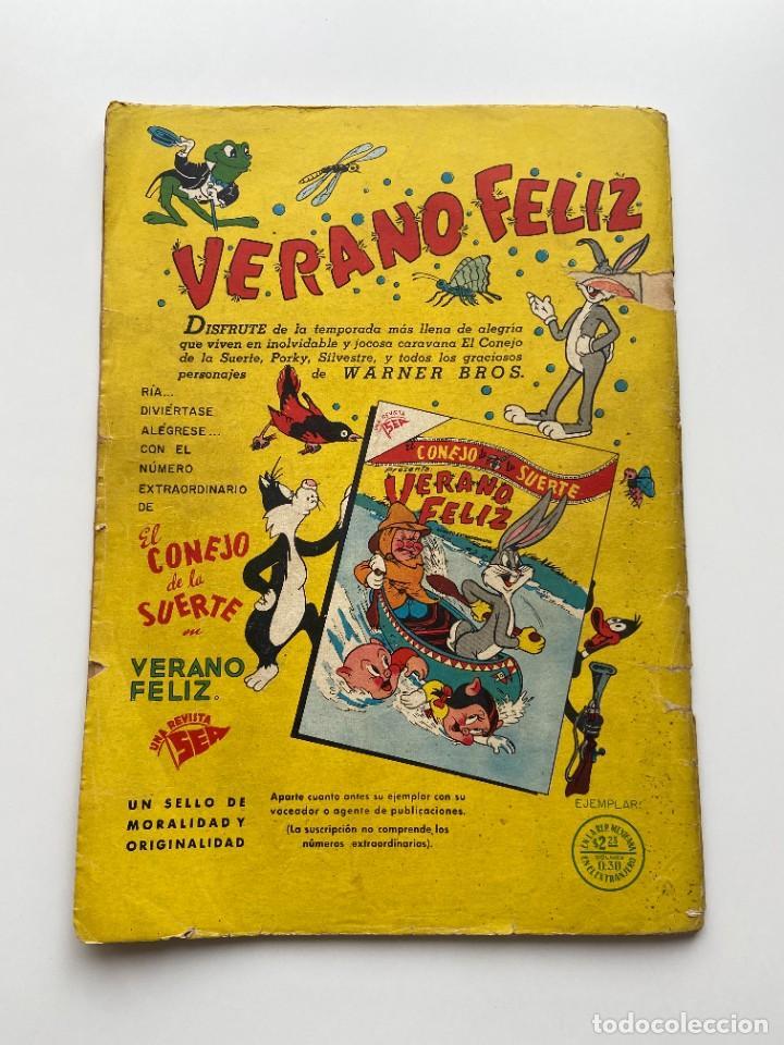 Tebeos: Porky y Sus Amigos nº 21 Año II Primerísima Numeración SEA Novaro sello Negro 1953 - Foto 7 - 257935655