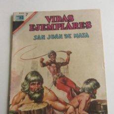 Tebeos: VIDAS EJEMPLARES. Nº 253. SAN JUAN DE MATA. NOVARO 1967 ARX92. Lote 258011500
