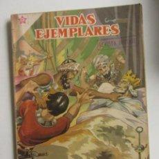 Tebeos: VIDAS EJEMPLARES Nº 53, SAN LUIS, REY DE FRANCIA - AÑO 1958 ED. NOVARO ARX22. Lote 258144000